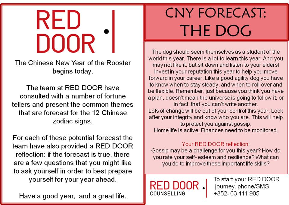 get ready for your chinese new year start your red door journey