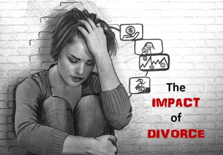 impact of divorce image