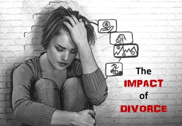impact of divorce image